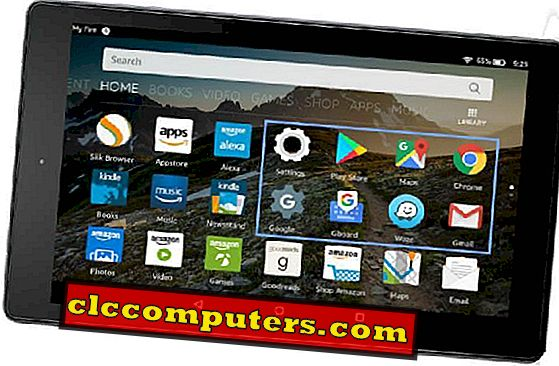 Comment installer des applications Android sur Amazon Kindle Fire HD (sans enracinement)