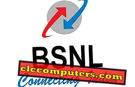 Sådan downloades BSNL Land Line Bill til din computer