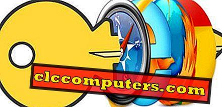 Kā pārtraukt automātisko paroles saglabāšanu IE, Chrome, Firefox un Safari?
