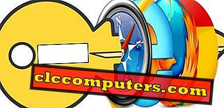 Jak odstranit Auto uložené hesla v IE, Chrome, Firefox a Safari?