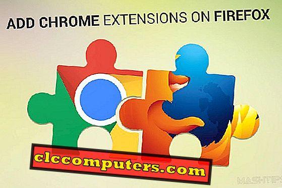 So installieren Sie Chrome Extensions auf einfache Weise in Firefox.