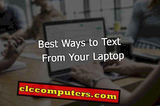 5 bedste løsninger til tekst fra din bærbare computer