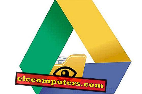 ¿Cómo ocultar un archivo en Google Drive?