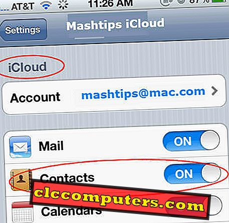 Slik sikkerhetskopierer du iPhone-kontakter til datamaskinen?