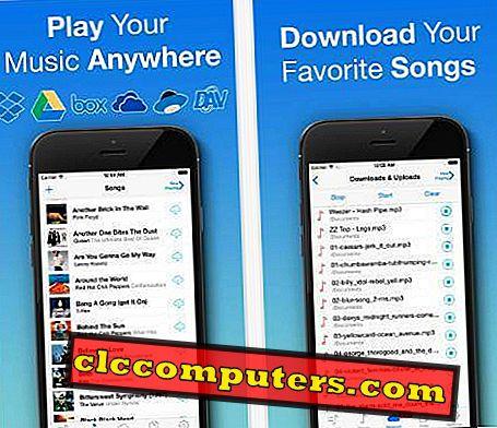 แอพ iOS 6 ฟรีเพื่อสตรีมเพลงจากคลาวด์ในออฟไลน์