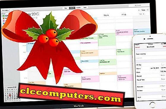 Kuinka lisätä Country Holiday -kalenteria MAC-kalenteriin?