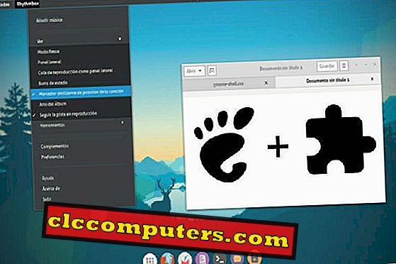 10のGNOME拡張機能とそのインストール方法