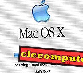 Como inicializar seu MAC no modo de segurança