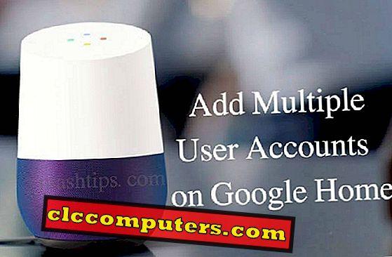 Как добавить несколько учетных записей пользователей в Google Home