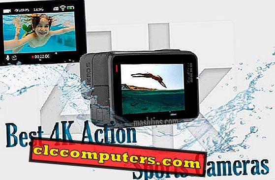 10 melhores câmeras de ação 4K para substituir o GoPro4.