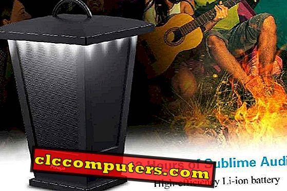 음악을 즐기기위한 Bluetooth가있는 7 개의 옥외용 스피커