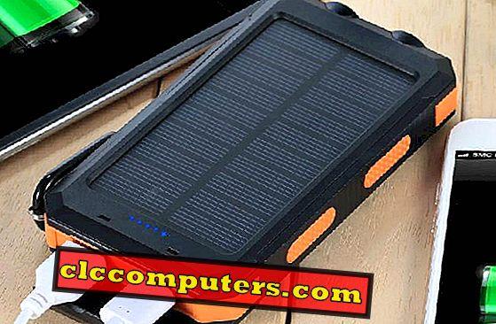 8 أفضل شواحن شمسية للهواتف المحمولة والأجهزة اللوحية لإعادة شحن