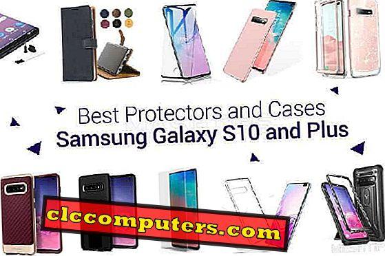10 beste beskyttelsesutstyr og etui til Samsung Galaxy S10 og Plus