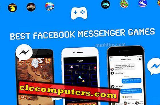 Najbolje Facebook Messenger igre za igranje s Facebook prijateljima