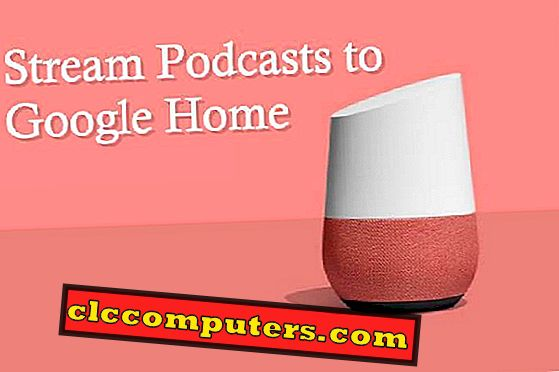Slik streker du Podcast til Google Home