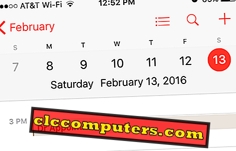 Comment synchroniser les calendriers secondaires Google sur iPhone / iPod?