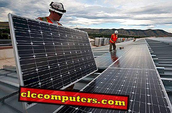 Google Tool kan Projekt Sunlight & Solar Panel Area på ditt tak