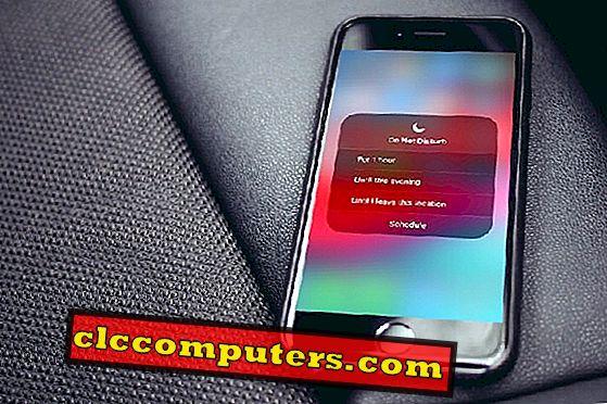 Ne moti: Kako uporabljati DND na iPhone in skrite funkcije.