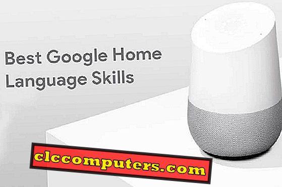Prøv disse bedste sprogfærdigheder fra Google Home