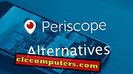 IPhone और Android के लिए 8 सर्वश्रेष्ठ पेरिस्कोप विकल्प