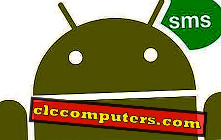 Az azonnali megoldás az SMS napló elrejtésére az Android hívásnaplókból