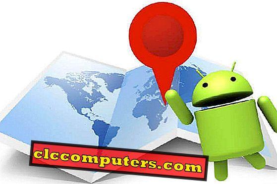 6 melhores mapas off-line para Android para converter Android Tablet para GPS
