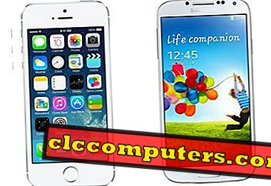Apple iPhone 5S gegen Samsung Galaxy S4