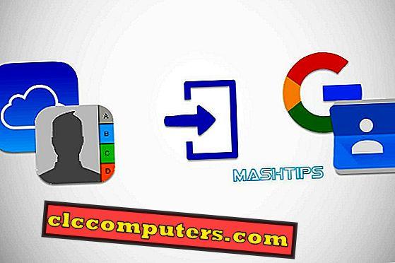 iCloudの連絡先をGoogleに直接インポートする方法