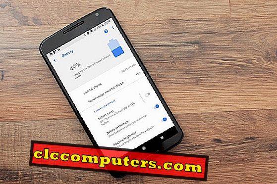 Sådan finder du ud af batteridrænning Apps på Android Oreo & Stop dem?