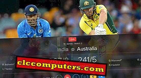 Android के लिए 6 सर्वश्रेष्ठ क्रिकेट रियल टाइम स्कोरिंग एप्लीकेशन