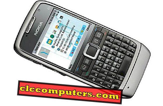 Zurücksetzen des Nokia E71