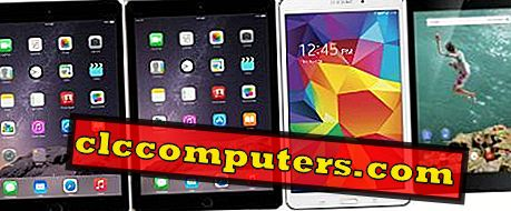 Apple iPad Air 2 un iPad Mini 3 Vs Samsung Galaxy Tab 4 Vs Google Nexus 9