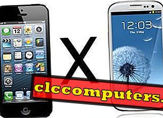 Una comparación entre iPhone 5 Vs Samsung Galaxy S3