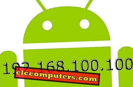 Kako izvesti ročne nastavitve IP za naprave Android
