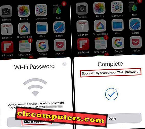 Hoe Wifi En Hotspot Delen Op De Iphone Met One Touch