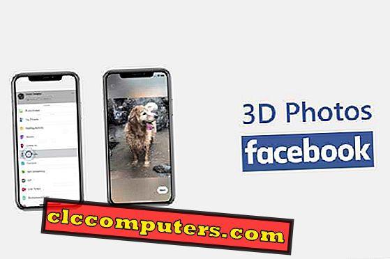 Kako stvoriti 3D fotografije na Facebook koristeći iPhone