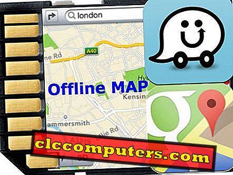 Як отримати Waze та Google Map Offline для збереження мобільних даних