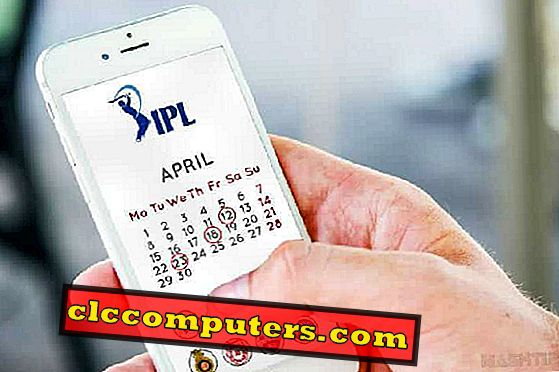 Kako priti IPL 2019 Match Calendar na Android, iPhone