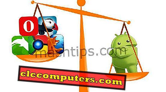 빠른 브라우징 경험을위한 Android 용 7 개의 최고의 경량 브라우저.