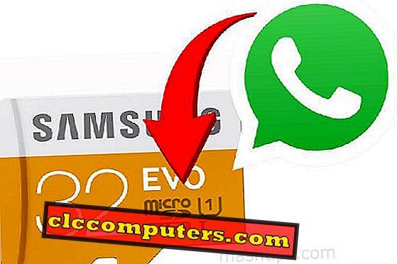Как да се движи автоматично WhatsApp Media към карта с памет?