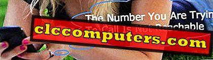 Hvordan laver du dit mobil- / mobilnummer uopnåeligt?