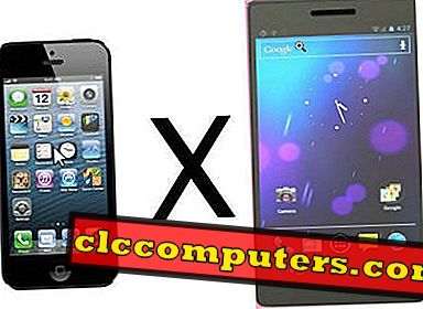 Tko pobijedi?  Samsung Galaxy S4 vs iPhone 5