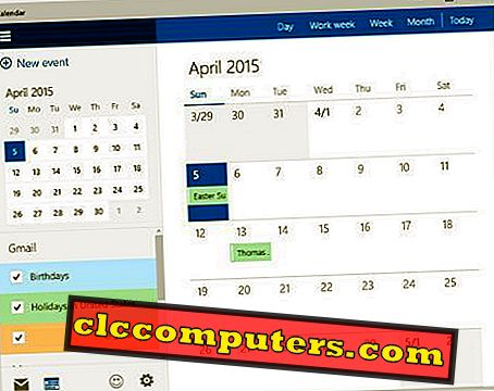 Como inscrever o Google Calendar no Windows 8