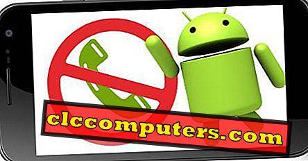 5 Ingyenes Android-alkalmazások a nem kívánt hívások és SMS-ek blokkolására