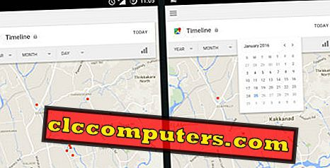 El teléfono con Android mantiene un registro de todas las ubicaciones que visitó