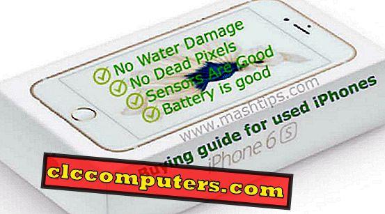 11 La lista de verificación del hardware del iPhone usado debe realizarse antes de comprar