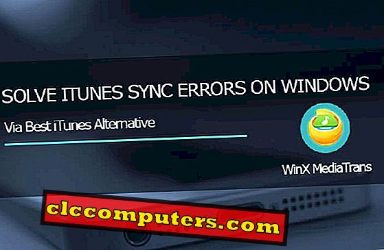 Få Irksome iTunes Sync Error på Windows Löst med WinX MediaTrans