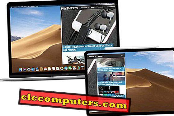 Kako uporabljati iPad kot drugi zaslon za Mac in Windows?