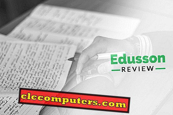 Edusson Review : 전문가 및 학생을위한 신뢰할 수있는 글쓰기 서비스.