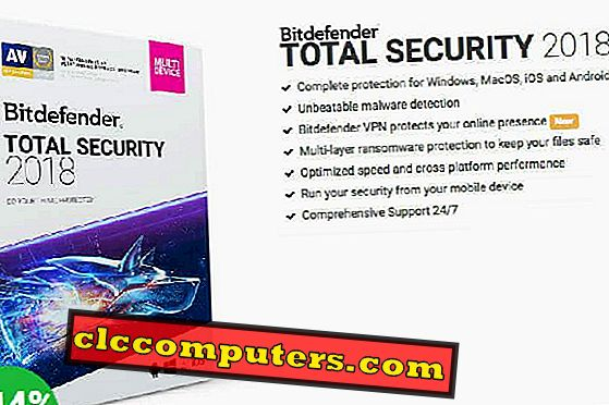 Bitdefender Total Security-One Stop Solution til alle enheder